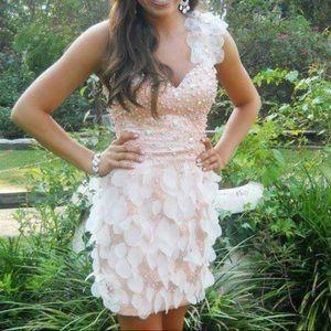 Pink Johnathan Kayne Cocktail Dress